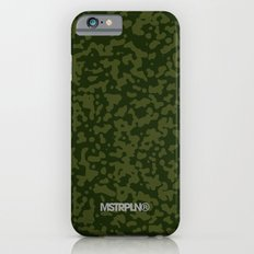 Comp Camouflage / Green iPhone 6s Slim Case