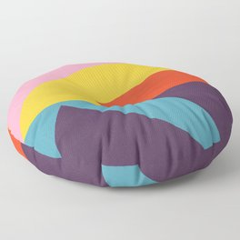 Pink Cocktail Floor Pillow
