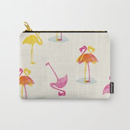 Angry Animals - Flamingobrella Carry-All Pouch