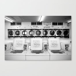 Fresno Laundromat Canvas Print