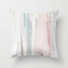 the dresses Throw Pillow