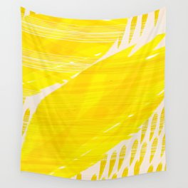 millennial yellow Wall Tapestry