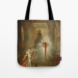 The Apparition by Gustave Moreau Tote Bag