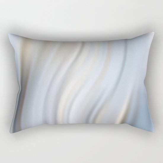 Abstract modern wavy background, elegant wave illustration Rectangular Pillow