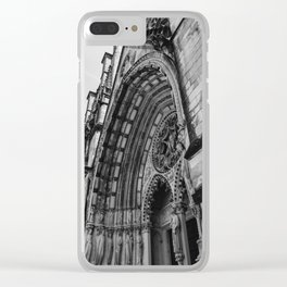 Cathedral Church of St. John the Divine III Clear iPhone Case