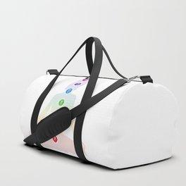Seven Chakra Symbols #38b Duffle Bag