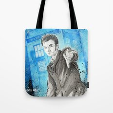 Doctor Who: The 10th Doctor Tote Bag