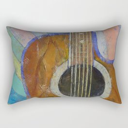 Guitar Sunshine Rectangular Pillow
