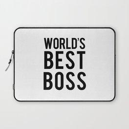 World's Best Boss Laptop Sleeve