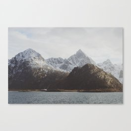 Vintage Mountain 08 Canvas Print