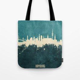 Hamburg Germany Skyline Tote Bag