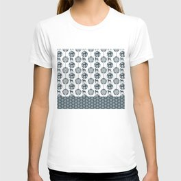 ART DECO BLU WEIM T-shirt
