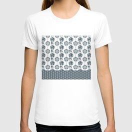ART DECO BLU WEIM T-shirt