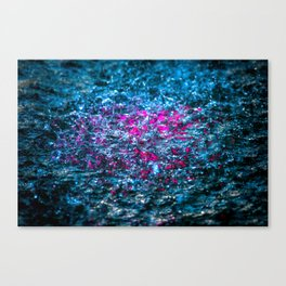 Water Color - Violet - Purple Canvas Print