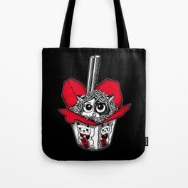 Lucky Cat Noodle Box Tote Bag