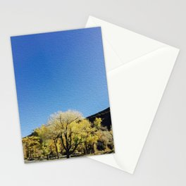 Northern Nevada Mayberry Park Autumn Landscape Stationery Cards