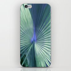 peacock palm iPhone & iPod Skin