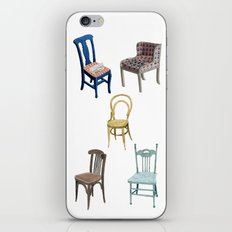 Chairs number 2 iPhone & iPod Skin
