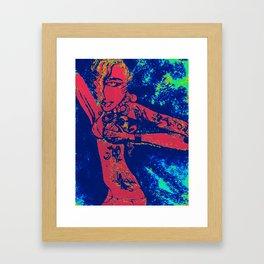 tatedgirlinmydreams Framed Art Print