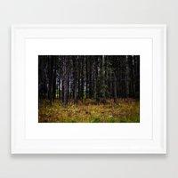 ashton irwin Framed Art Prints featuring Ashton Idaho - Autumn by IMAGETAKERS