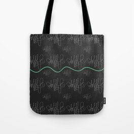 Black series 008 Tote Bag