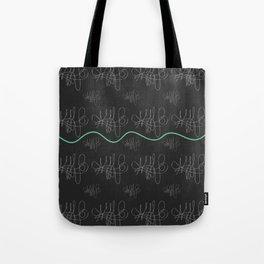 Black series 008 Tote Bag