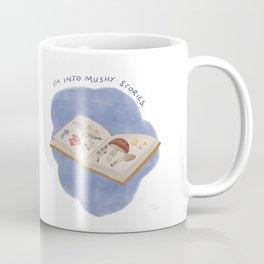Mushy Stories / Mushroom Book Coffee Mug