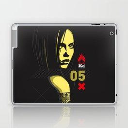 Fashion Dark Woman Laptop & iPad Skin