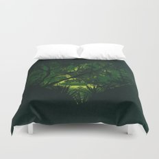 Heart of Darkness Duvet Cover