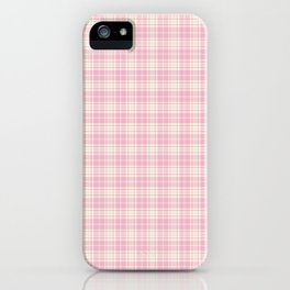 Plaid 2 iPhone Case