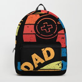Dad Level Unlocked To Become A Father Backpack