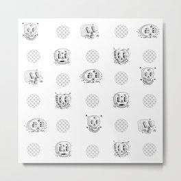 Planta skull Metal Print