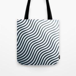 Waves - Lines Tote Bag