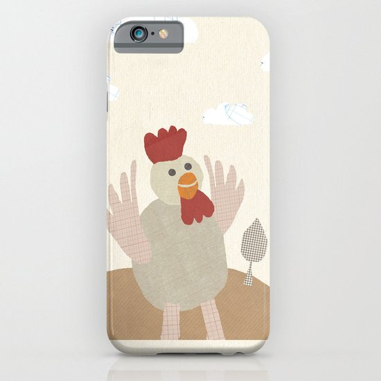rooster collage iPhone & iPod Case