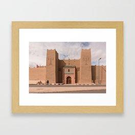 Ancient Gates - Morocco Framed Art Print