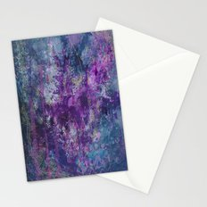 nocturnal bloom Stationery Cards