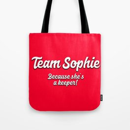 Team Sophie Tote Bag