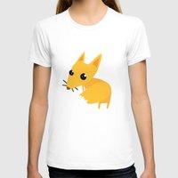 kitsune T-shirts featuring kitsune by kulu kulu