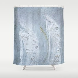 Marble Iland 5 Shower Curtain