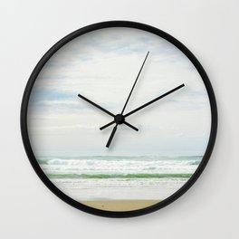 The Sea In Pastels Wall Clock