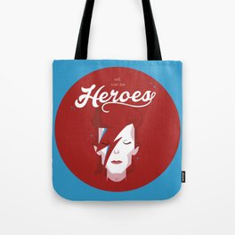 bowie forever blue Tote Bag
