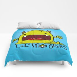 Lil' Monster Green Comforters