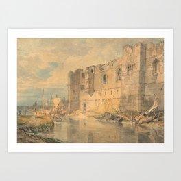 "J.M.W. Turner ""Newark - upon - Trent"" Art Print"
