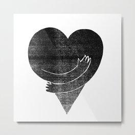 Illustrations / Love Metal Print