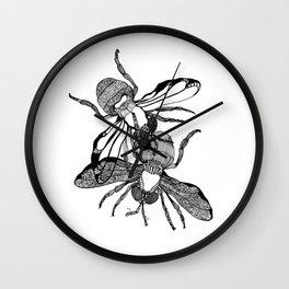 Houseflies Wall Clock