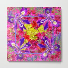Awesome Spring Floral Garden Nature Art Metal Print