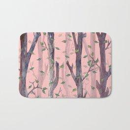 Forest Pink Bath Mat