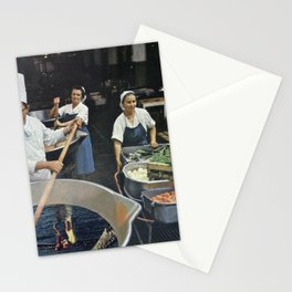 Recipe to Another Dimension - Vintage Collage Stationery Cards