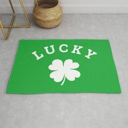 Lucky 4 Leaf Clover Rug