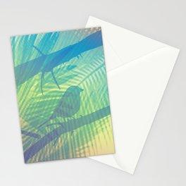 Palm bird Stationery Cards